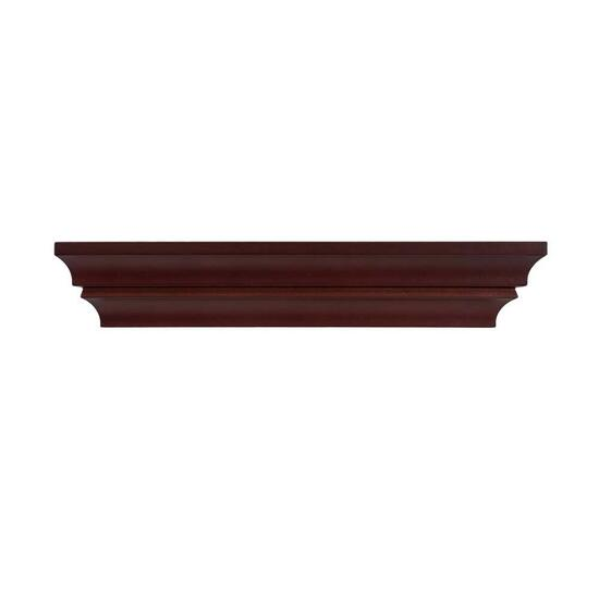 Kiera Grace Madison Contoured Wall Ledge and Shelf, Set of 3 - 16 in.