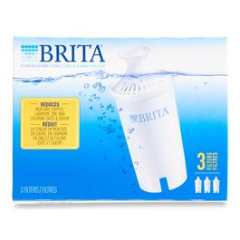 Brita Pitcher Water Filter Replacement - 3pk.