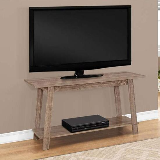 Monarch Specialties TV Stand - Dark Taupe
