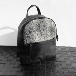 Nicci Snake Skin Fashion Backpack