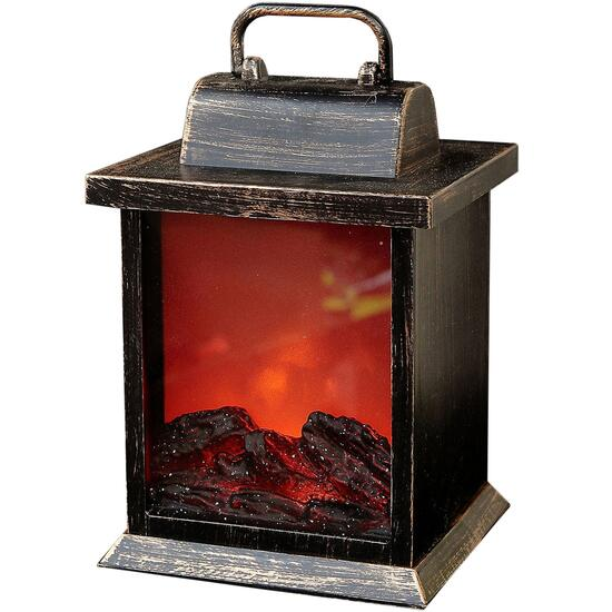 IH Casadecor LED Fireplace Lantern