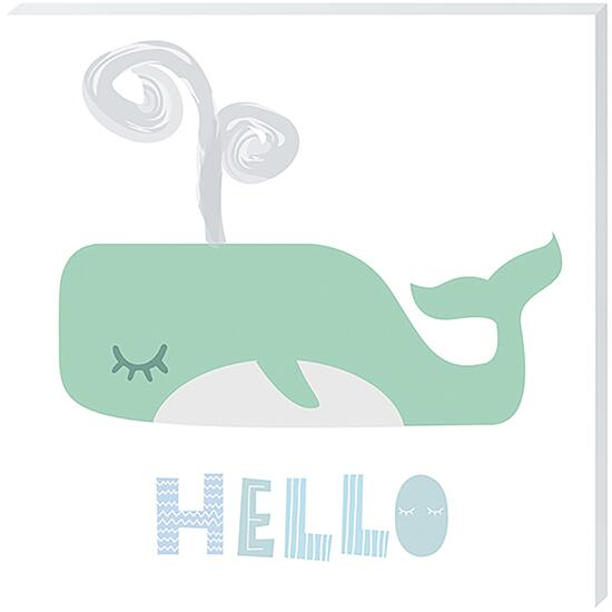 Hello - 12in. x 12in.