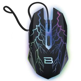 BYTECH Light Up Wired Gaming Mouse