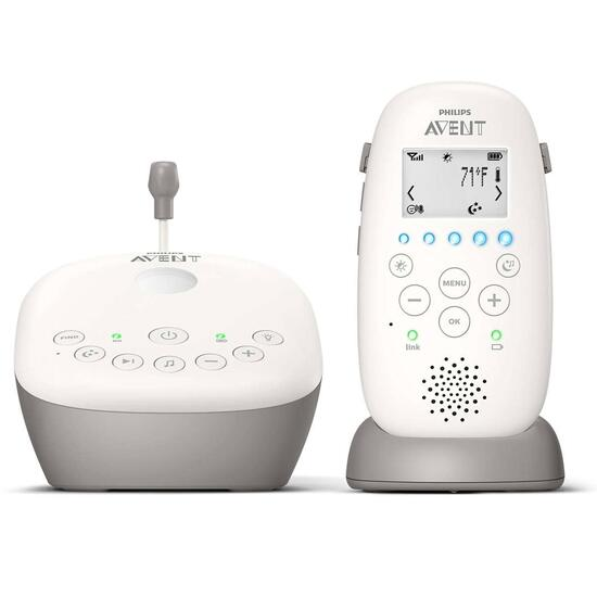 Philips Avent High Level DECT Audio Monitor with Starry Night Projector