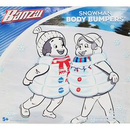Banzai Snow Man Body Bumpers - 2pc.