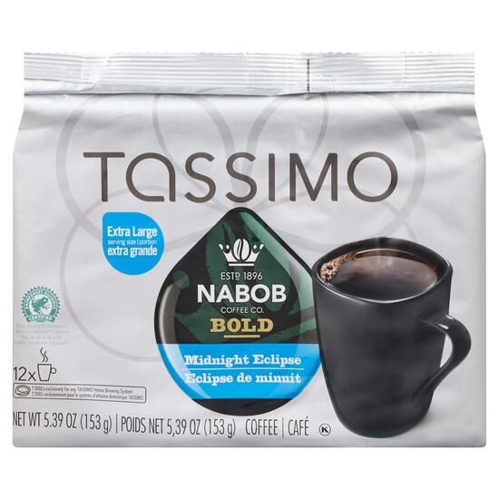 Nabob Coffee Co. Tassimo Bold Midnight Eclipse Coffee - 153g