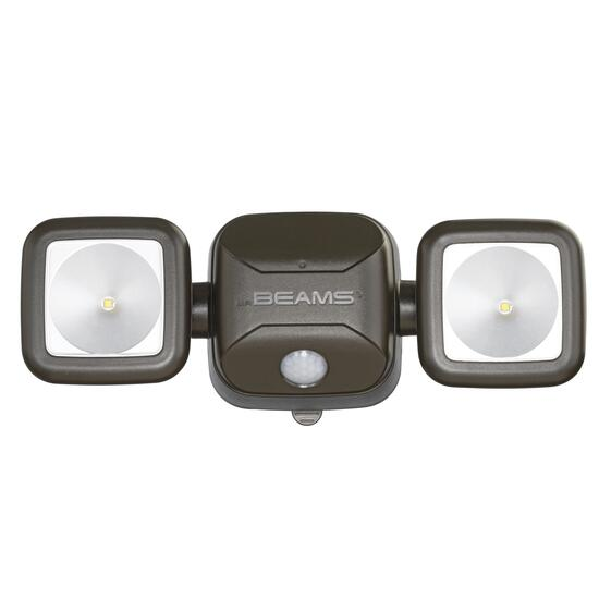Mr Beams® High Performance LED Security Light - Brown