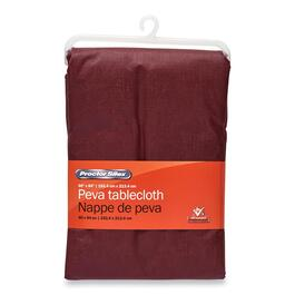 Procter Silex PEVA Flannel Tablecloth - 84in.