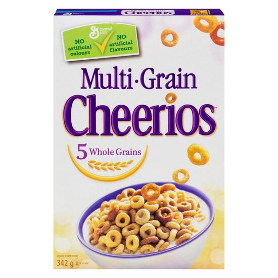 Cheerios Multi-Grain Cereal - 342g