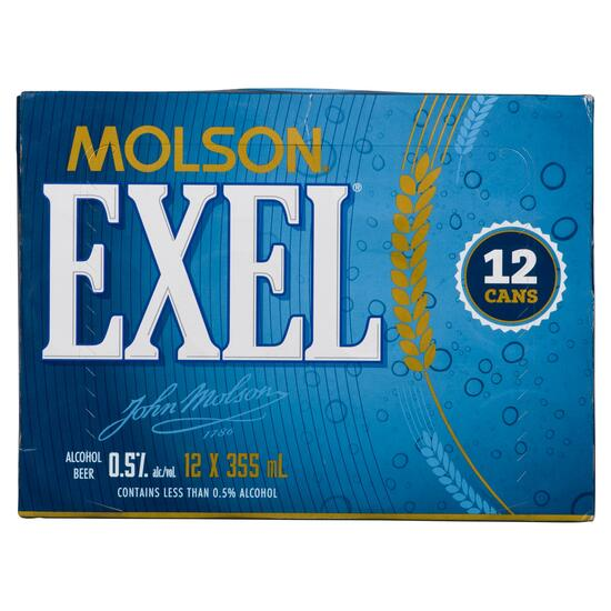 Molson Exel Beer 12pk. - 355ml