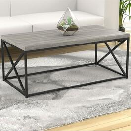 Safdie & Co. Grey Coffee Table - 48in.
