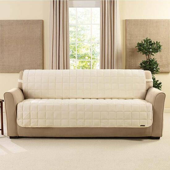 surefit¬ô Deluxe Sofa Pet Cover - Ivory