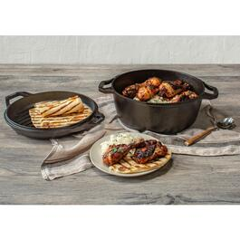 Lodge Chef Collection Double Dutch Oven - 6qt.