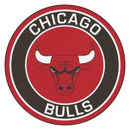 NBA Chicago Bulls Roundel Mat - 27in.
