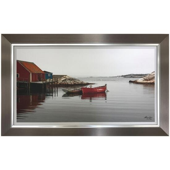 Atlantic Charm by Alicia Soave Framed Art - 36in.