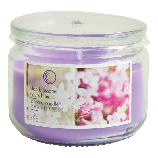 Lilac Blossom Scented Jar Candle - 18oz.