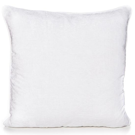 Gouchee Design White Chenille Cushion - 20in.