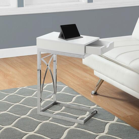 Monarch Specialties Inc. Accent Table with a Drawer