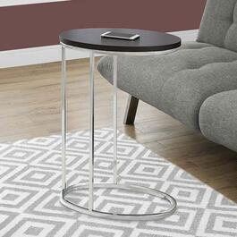 Monarch Specialties Oval Accent Table - Cappuccino