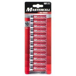 Mastercell AA Pro Power+ Batteries - 12pk.