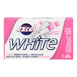 Wrigley's Excel White Bubblemint - 12pc.