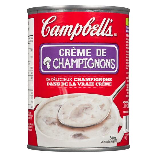 Campbell's Ready to Serve Soup Cream of Mushroom - 540ml