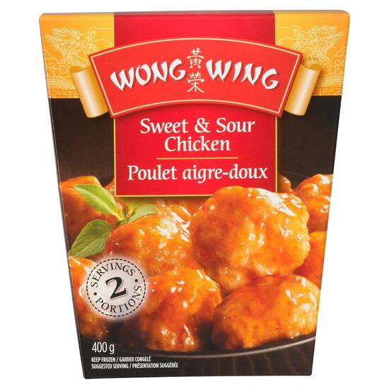 Wong Wing Sweet and Sour Chicken - 400g