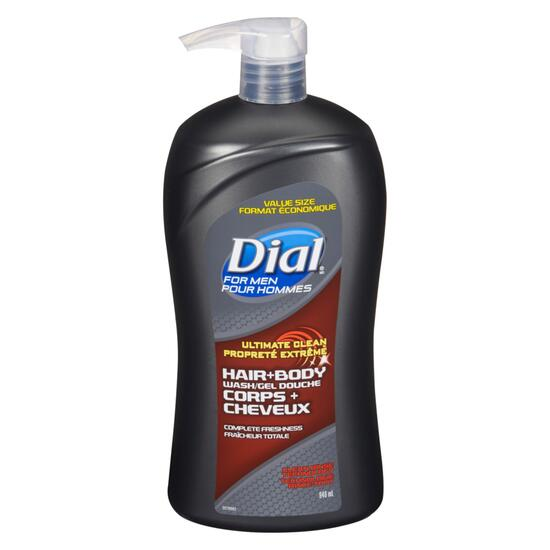 Dial Men Ultra Clean Hair + Body Wash - 946ml