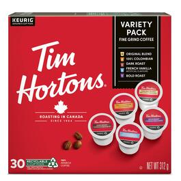 Tim Hortons Coffee Light Medium Roast K-Cup Pods 30pk. - 315g