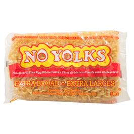 No Yolks Extra Broad Egg White Noodles - 340g