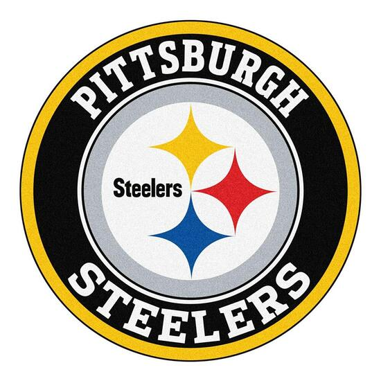 NFL Pittsburgh Steelers Roundel Mat - 27in.