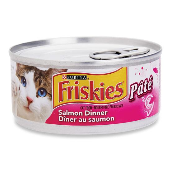 Purina Friskies Salmon Pate Cat Food - 156g