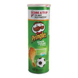 Pringles Sour Cream and Onion Potato Chips - 156g