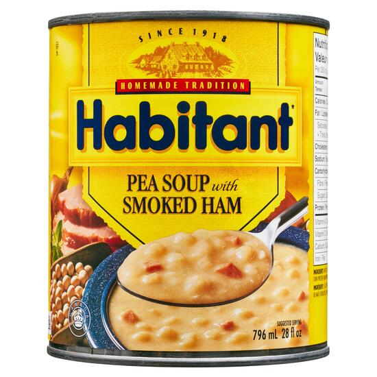 Habitant Ready to Serve Soup French-Canadian Pea - 796ml
