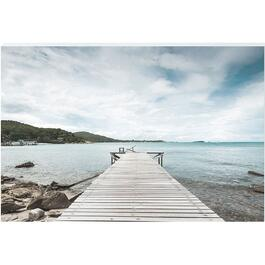 Lonely Dock Canvas Art - 24in. x 36in.
