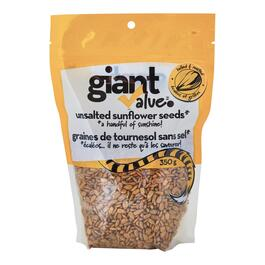Giant Value Unsalted Sunflower Seeds - 350g