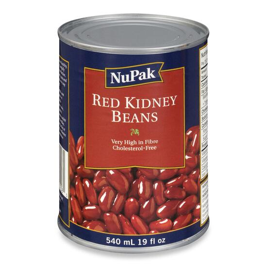 NuPak Red Kidney Beans - 540ml