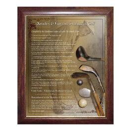 Frameworth Rules of Golf Print