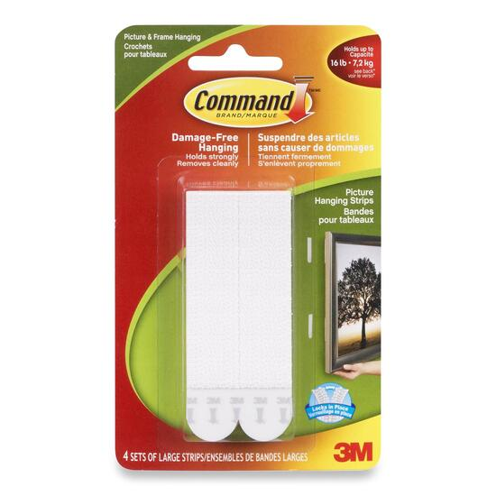 Command Large Picture Hanging Strips - 4pk.
