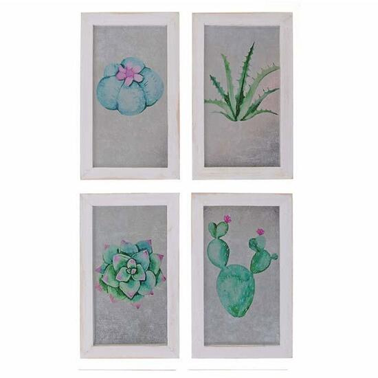 Cactus Wall Art - 8in.