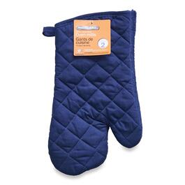 Proctor Silex Blue Oven Mitts