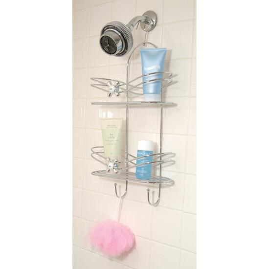 Faucet Knob 2 Tier Shower Caddy