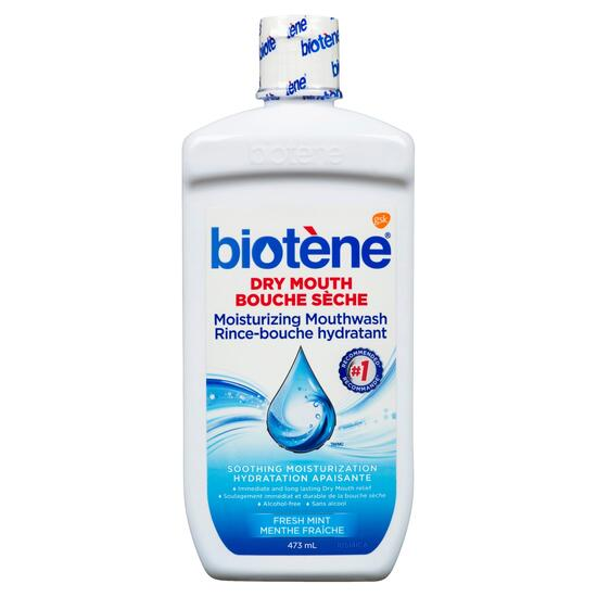 Biotène Fresh Mint Moisturizing Dry Mouth Mouthwash - 473ml