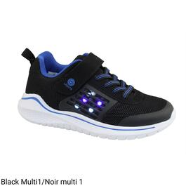 SURVIVAL GEAR Boy's Light-Up Athletic Shoes - 11-4