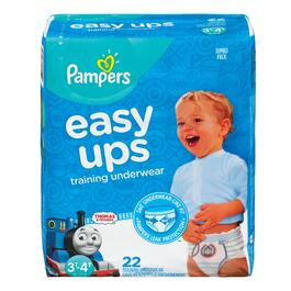 Pampers Easy Ups Boys Training Pants - 22pk.