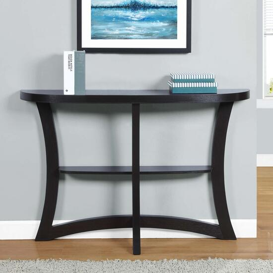 Monarch Specialites Inc. Hall Accent Table - Cappuccino