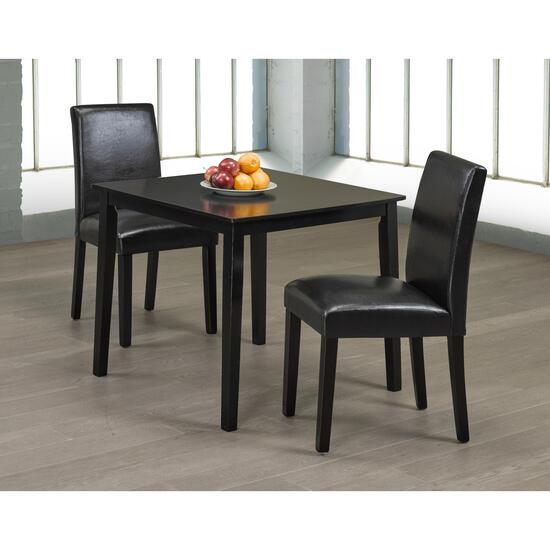Titus Solid Wood and Wood Veneers Dining Table Seats 2