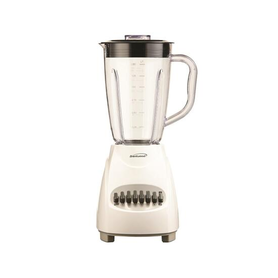 Brentwood White 12-Speed and Pulse Blender