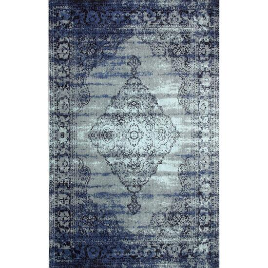 Avocado Décor Blue/Grey Vintage Centro Rug - 6.6ft. x 9.2ft.