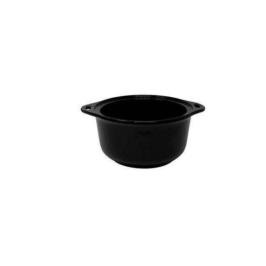 Kalorik Ceramic Steamer with Steaming Rack - Black
